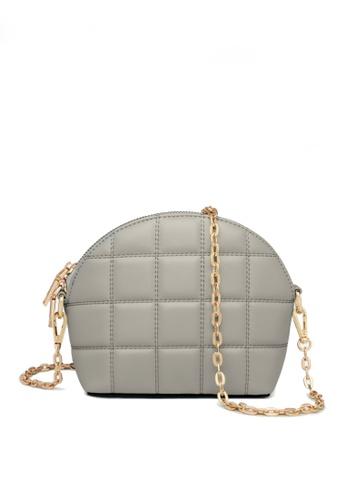 Twenty Eight Shoes grey VANSA Fashion Lingge Chain Crossbody Bag VBW-Cb4028 BF62FACB04121DGS_1