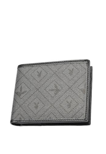 Playboy grey RFID Blocking Wallet 11CFCAC762AD60GS_1