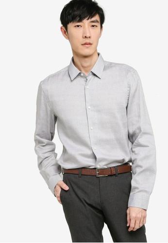 BOSS 黑色 Isko Long Sleeve Shirt 4863BAADB868DAGS_1