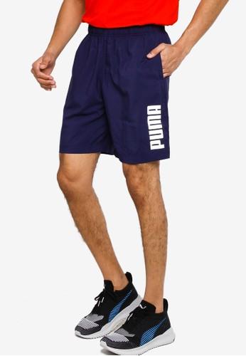 """PUMA navy Essentials Active 8"""" Men's Woven Shorts EFFC3AA6858FA3GS_1"""