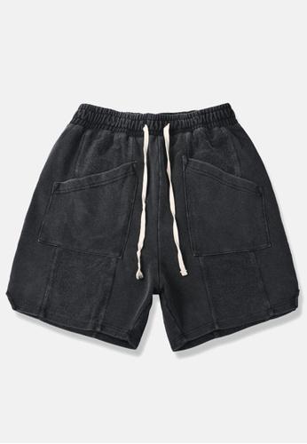 HAPPY FRIDAYS Soft Denim Casual Shorts BE11 DB6F5AAD89F6B8GS_1