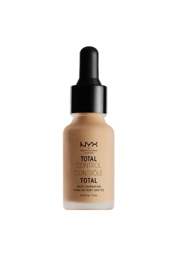 NYX Professional Makeup beige NYX Professional Makeup Total Control Drop Foundation - BUFF 1A1F0BE57B854AGS_1