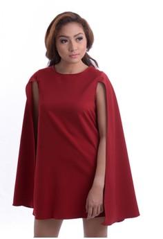 Clarissa Cape Dress