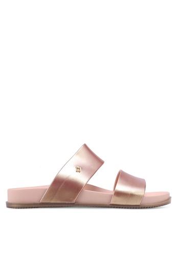 Melissa pink Melissa Cosmic Ad Sandals 754D2SH8C601BCGS_1