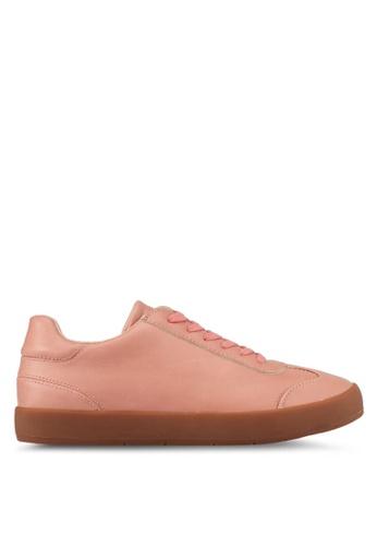 ZALORA pink Minimalist Detail Sneakers 69644SHCE69D79GS_1