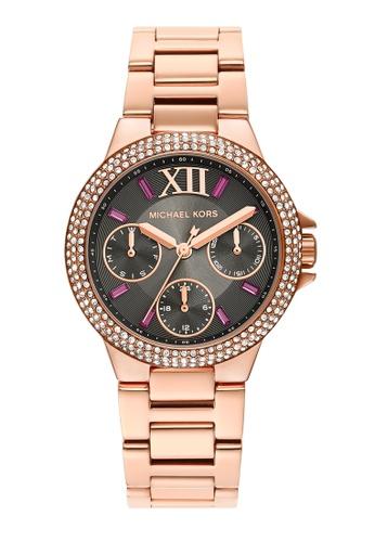 MICHAEL KORS gold Camille Watch MK6983 5EFEBAC725F527GS_1