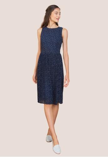 L'zzie blue LZZIE ELLENDER DRESS - BLUE BC736AA5024DBFGS_1