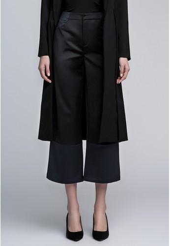雙色寬管褲, 服飾, esprit home 台灣九分褲