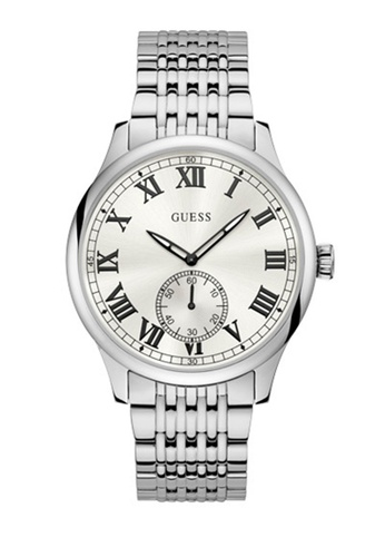 Guess Watches silver Mens Dress Watch W1078G1 ADC68AC47CE0C3GS_1