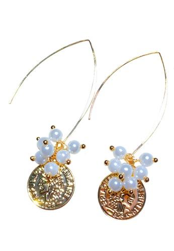 Sunnydaysweety gold Stylish EarringsCA060315 EA35AAC6472292GS_1