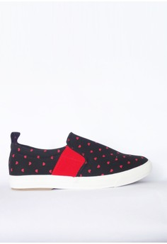 Hearts Slip On Sneakers