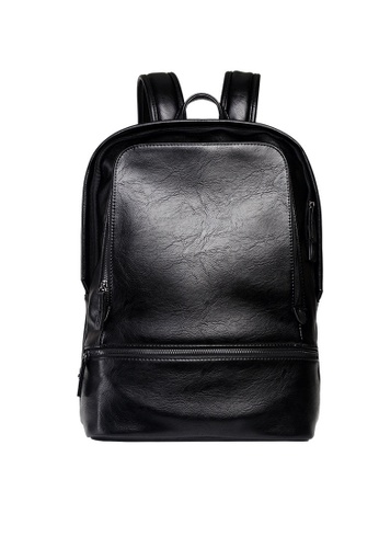 Lara black Large Capacity Backpack for Men B9527ACCE9D4DDGS_1