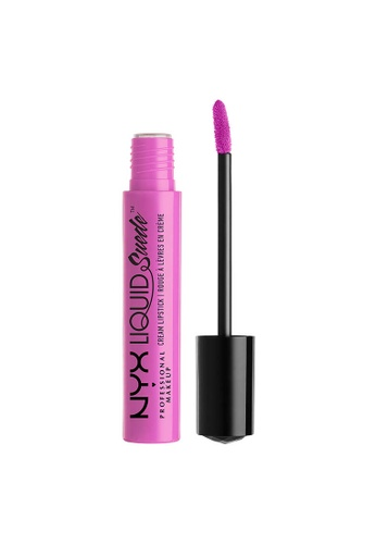 NYX Professional Makeup pink NYX Professional Makeup Liquid Suede Cream Lipstick - RESPECT THE PINK 88888BED45721DGS_1