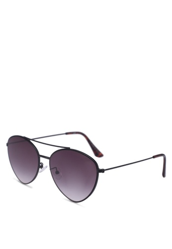 Rubi black Olivia Fashion Aviator Sunglasses D0AA3GLCF2053AGS_1
