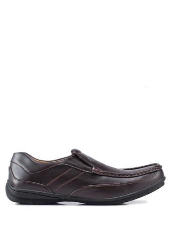 Rocklander 褐色 仿皮樂福鞋 A0FDCSH88A49D7GS_1