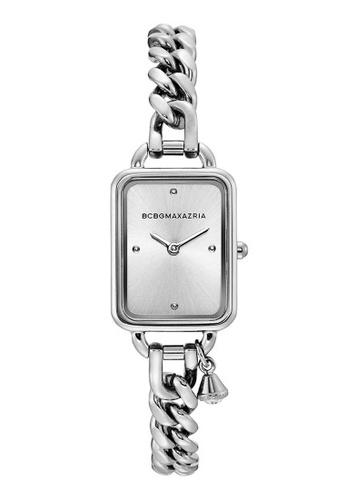 BCBG silver BCBGMAXAZRIA Silver Stainless Steel Watch 8ABD0AC8727C03GS_1