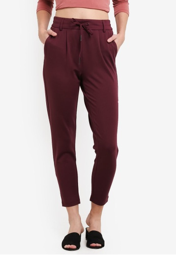 ONLY red ONLY ONE Solid Trousers ON573AA0RMB4MY_1