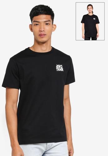 ASICSTIGER black Small Logo Tee AS610AA0SVTQMY_1