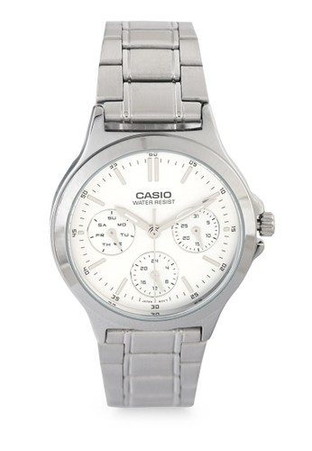 Casio silver Casio Jam Tangan Wanita - Silver - Stainless Steel - LTP-V300D-7A FF5C0AC0E1B2DAGS_1