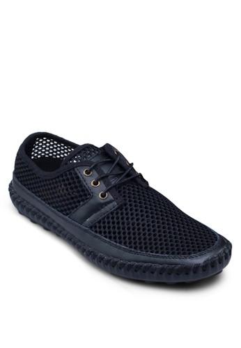 Korea esprit台灣系列網眼繫帶休閒鞋, 鞋, 鞋