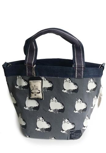LULUGIFT Lulugift Japan Imported Kusuguru Shippo Zakka  Tote Shoulder Bag LU989AC09SMOMY_1