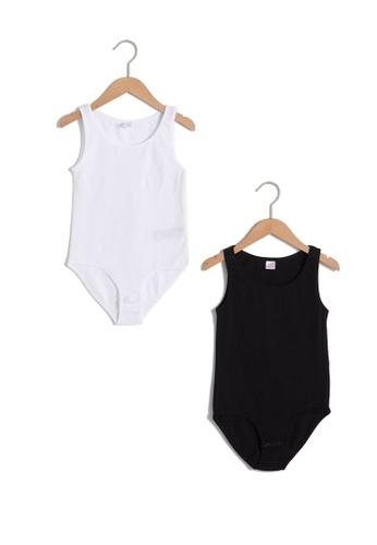 LC Waikiki white 2-Pack Girl's Bodysuits 88736KAFBD6A05GS_1