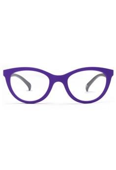 harga Adidas frame kacamata - Cat Eye - 014O - violet Zalora.co.id