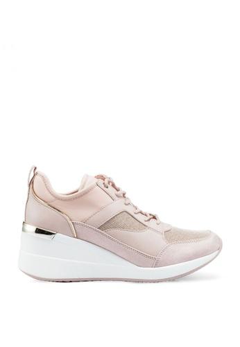ALDO pink Thrundra Platform Sneakers 6EBC7SH3C2DC79GS_1