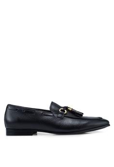 231c1bd5395 ALDO black Olaleviel Tassel Loafers D52D0SHBB46616GS_1