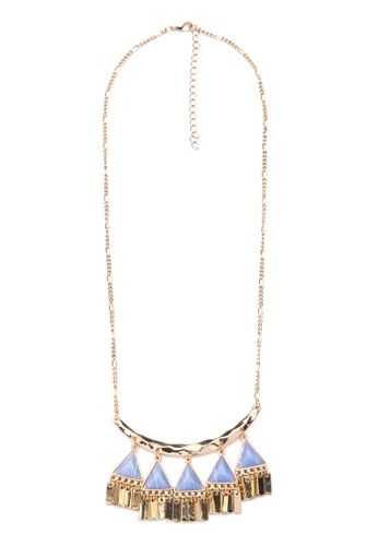 Kimberley blue and gold Lavish Necklace KI026AC0JN1IPH_1