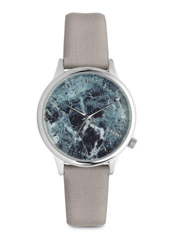KOMONO grey Estelle Marble Grey Marble Watch KO163AC0T0TLMY_1