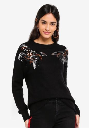Vero Moda black Pacal O-neck Sweater FC1F1AAF854068GS_1