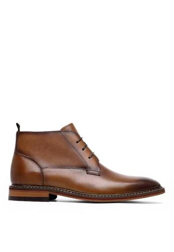 Twenty Eight Shoes Amaretto Leather Boot 867801 F8ADASH1318520GS_1