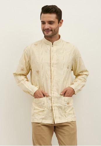 Woffi brown Dasoguz Koko Shirt 454E0AA9A7C529GS_1