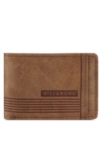 Billabong brown Vacant Wallet BI783AC0SXHVMY_1
