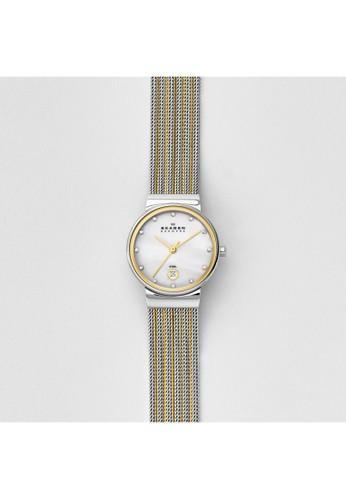 Skagen ANCHER女錶 355esprit 衣服SSGS, 錶類, 淑女錶