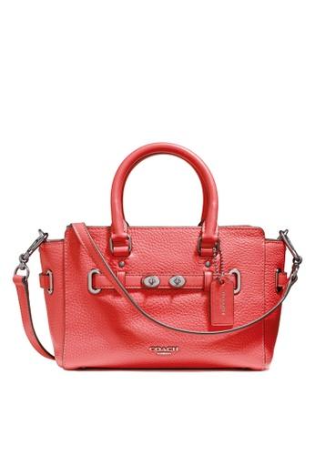 Coach red Mini Blake Carryall Bag (cv) 46387AC6BFBEB7GS_1