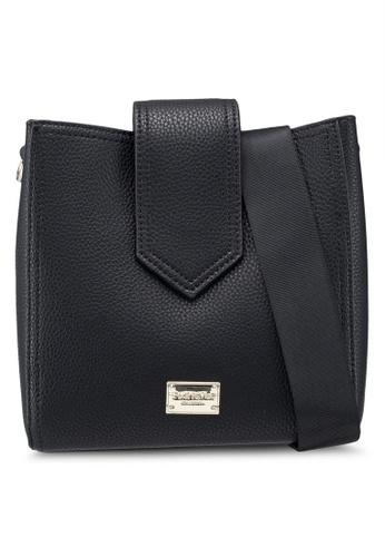 Perllini Mel black Faux Leather Single Handle Shoulder Bag  FF1AAAC4AF5A21GS 1 204d700c84643