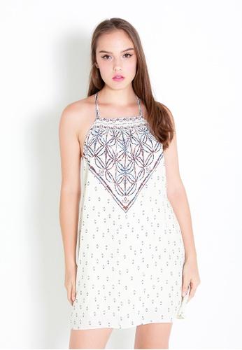 Leline Style white Benni Summer Dress LE802AA20RGDSG_1