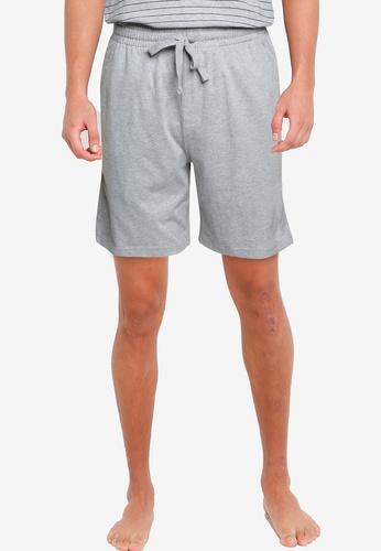 Old Navy grey Jersey-Knit Pajama Shorts EBC00AA2F60FC7GS_1