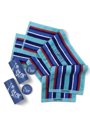 Esprit SET OF 2 Esprit Gym/Sports Christmas Gift Towel Set 7F9B6HLFE65A34GS_1