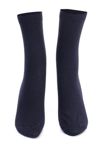 Hamlin navy Hamlin Bumbha Kaos Kaki Pria Mozaik Anti Odor Socks Footwear Material Bamboo Fiber ORIGINAL 5EA0DAA5188313GS_1