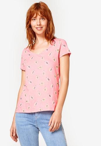ESPRIT pink Short Sleeve T-Shirt DC6D7AA4E9B8A6GS_1