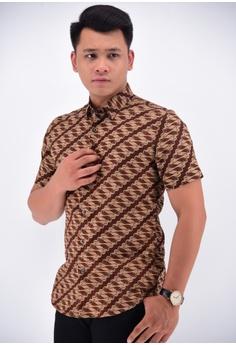 Buy Men Batik Shirts Online  0b709430a0