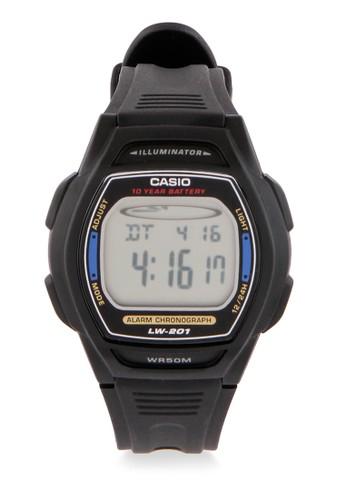 Casio black Women Analog Watches LW-201-2AVDF 40BCDACC6CC14BGS_1