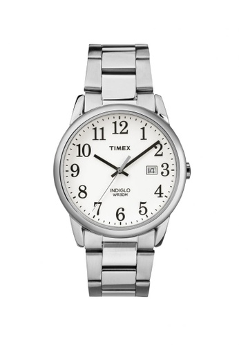 TIMEX silver Timex Easy Reader - Silver Tone Stainless Steel Bracelet (TW2R23300) TI857AC94LIBSG_1