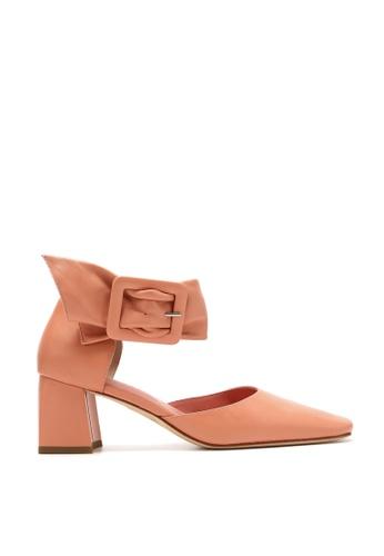 Rabeanco pink RABEANCO NUI2 Block Heel Pumps - Pink 77694SHD3D6981GS_1