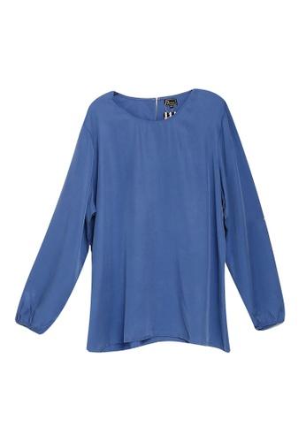 Zariya blue Blouse & Tunics 5E7BDAAF16C79BGS_1