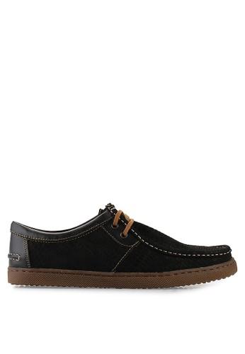 CARVIL black Mens Shoes Leather Wolver CA566SH04PJFID_1