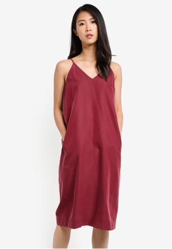 WEEKEND SUNDRIES red Bokeh Dress WE453AA0FXURSG_1
